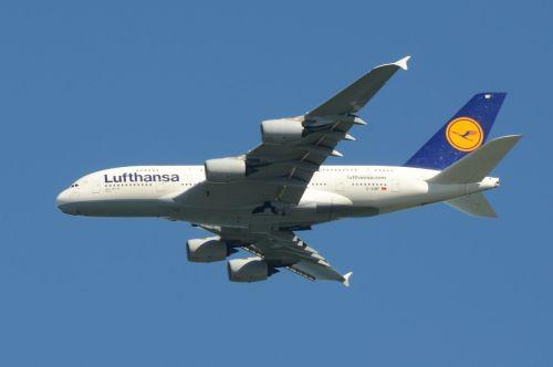 Lufthansa: Airbus A380-841Tímhle letadlem jsme před 3 týdny přiletěli